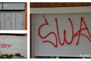 Rintelner Freibad und weitere Orte fallen Graffiti-Sprayern zum Opfer: Die Polizei sucht Zeugen