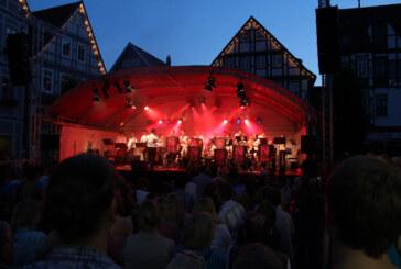 Das Ernestinum rockt den Marktplatz: Jazz & Rock Open Air 2014