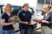 Spende auf vier Rädern: DLRG Ortsgruppe Rinteln erhält Fahrzeug