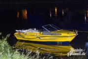 Bootsunfall unter der Weserbrücke: Unfallverursacher flüchtet in Richtung NRW