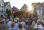 Ganz großes Kino: Jazz & Rock Open Air / Ernie´s Hausband und Ernestinum Bigband im Konzert auf dem Rintelner Marktplatz