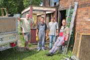 Kiosk muss gehen: Am Lokschuppen in der Nordstadt wird aufgeräumt