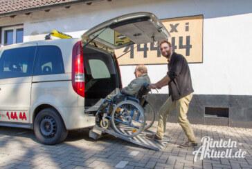 Taxi Rindfleisch mit rollstuhlgerechtem Fahrzeug