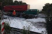 LKW-Brand auf der A2: Stau und Verkehrschaos in der Umgebung
