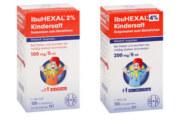 Hexal ruft bestimmte Chargen Ibuhexal Kindersaft zurück