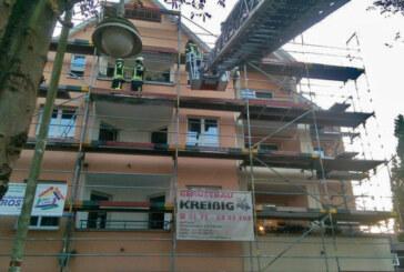 """Einsatzübung beim betreuten Wohnen """"Alte Feuerwehr"""" in Rinteln"""