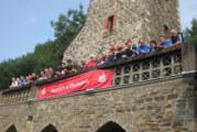 Diesjähriges Boule-Turnier am Klippenturm: Herausfordernd und mit tollen Aussichten