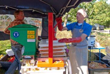 Lions Club und NABU Rinteln laden zum Apfelfest