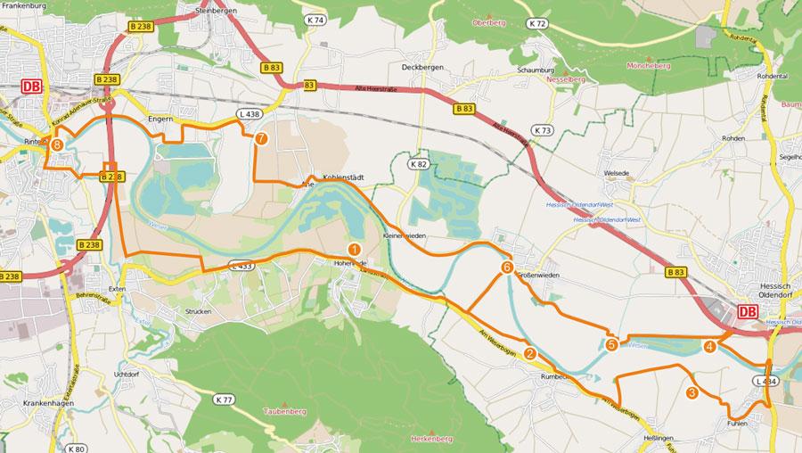 01-rintelnaktuell-weser-erleben-radweg-Karte-Route_mit-Tour