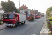 Großaufgebot der Feuerwehren: Einsatz bei Stüken