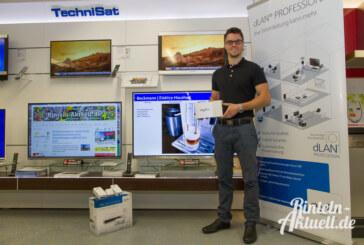 Sat-Signale im Stromkabel: Herbst-Hausmesse bei Beckmann Elektro am 2.11.2014