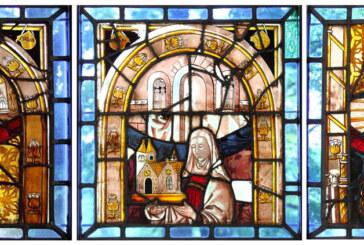 Eulenburg Museum Rinteln erwirbt 500 Jahre alte Glasfenster aus der Arensburg