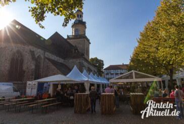 Rintelner Weintage: Das Gastro-Event auf dem Kirchplatz