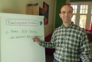 Qualifizierung für ehrenamtliche Familienpaten: Albrecht Schäffer zur Schulungsreihe ab 15. November
