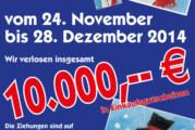 In Rinteln einkaufen mit Gewinn: Beim Weihnachtsgewinnspiel Preise im Gesamtwert von 10.000 Euro absahnen