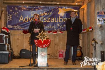Der Rintelner Adventszauber 2014 ist eröffnet