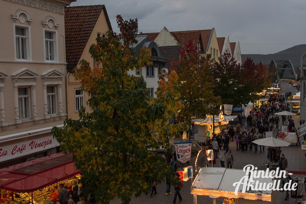 15 rintelnaktuell messe herbst 2014 kettenkarussell riesenrad innenstadt rummel marktplatz