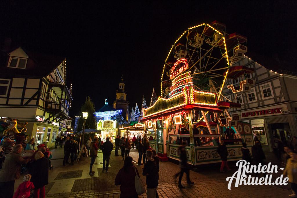 16 rintelnaktuell messe herbst 2014 kettenkarussell riesenrad innenstadt rummel marktplatz
