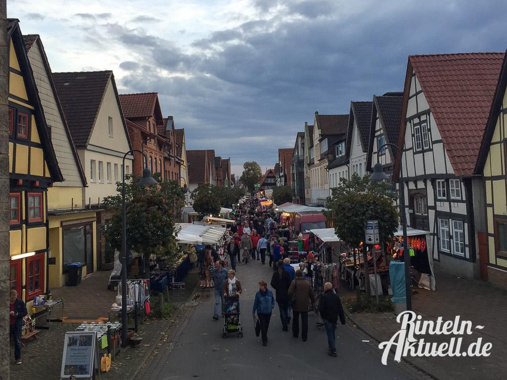 22 rintelnaktuell messe herbst 2014 kettenkarussell riesenrad innenstadt rummel marktplatz