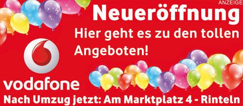 Vodafone Shop Rinteln: Jetzt neu am Marktplatz 4