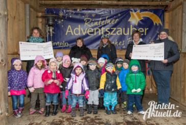 Mit Nikolausstiefel 310 Euro verdient: Kita und Grundschule freuen sich