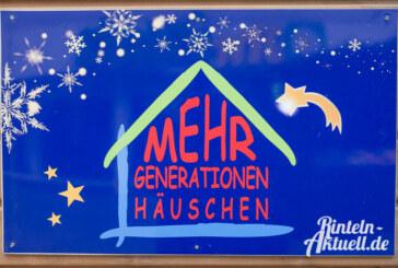 """Programm im """"Kleinen Mehrgenerationenhäuschen"""" auf dem Rintelner Weihnachtsmarkt"""