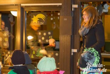 Lebendiger Adventskalender startet beim Comenius-Kindergarten in der Nordstadt