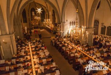 Start in den Advent: Musikgottesdienst und abendliches Singen im Kerzenschein