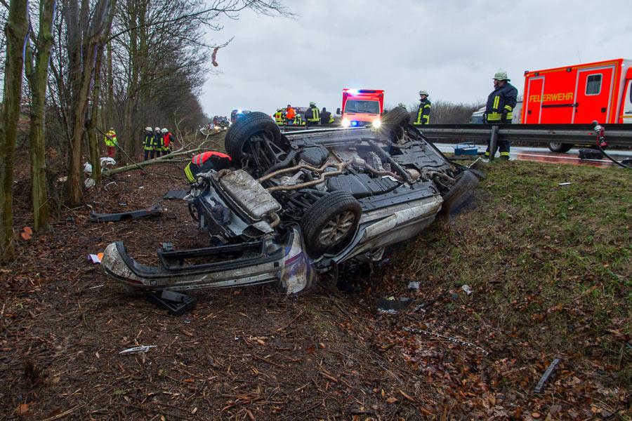 Wolfsburg Autounfall