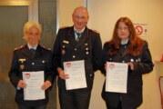 Jahreshauptversammlung der Feuerwehr Exten