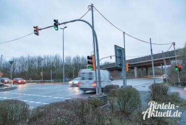 Da fehlt die Ampel: LED-Technik für die Konrad-Adenauer-Straße