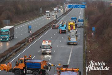 A2: Zwei schwere Unfälle im Auetal innerhalb weniger Stunden