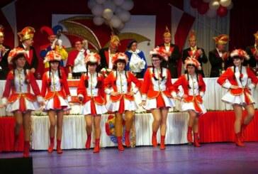 Rintelner Carnevalsverein mit Training für Tanzgarde