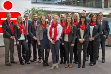 Neue Kollegen für die Sparkasse Schaumburg