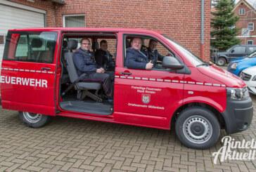 Mit 315 Kilometern zur ersten Fahrt: Neue Transporter für Feuerwehren Möllenbeck und Todenmann