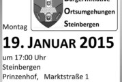 Bürgerinitiative Ortsumgehungen Steinbergen lädt zu Informationsveranstaltung