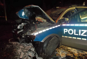 Mindener Polizisten verunglücken in der Silvesternacht: Über 110 Einsätze sorgen für stressigen Jahreswechsel im Mühlenkreis
