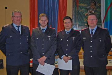 Jahreshauptversammlung der Feuerwehr Strücken