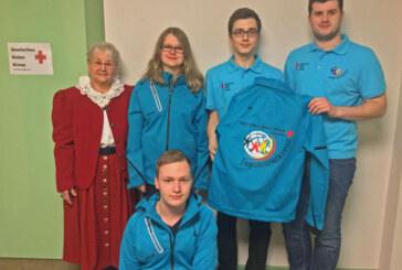 Jacken für Jugendrotkreuz