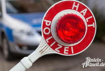 Kennzeichen gefälscht: Polo-Fahrer unter Drogen flüchtet in Steinbergen vor Polizei