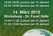 Schaumburg Rangers suchen Verstärkung: Try-Out in der Kreissporthalle