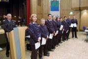 Jahreshauptversammlung der Feuerwehr Rinteln