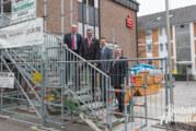 Barrierefrei und mehr Räume: Die Sparkasse am Andeplatz wird umgebaut