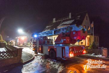 Kamin sorgt für Feuerwehreinsatz