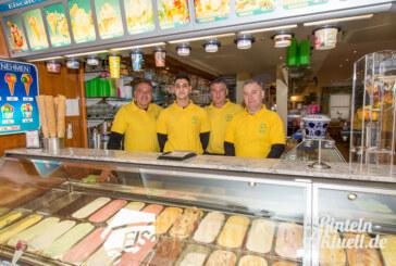 Eiscafé Venezia seit heute wieder geöffnet