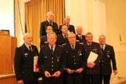 Kreisfeuerwehrverbandsversammlung im Ratskeller Bückeburg