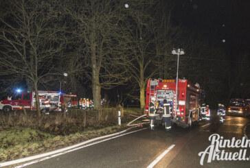 Goldbeck: Feuer in Scheune vermutlich durch Schweissarbeiten ausgelöst
