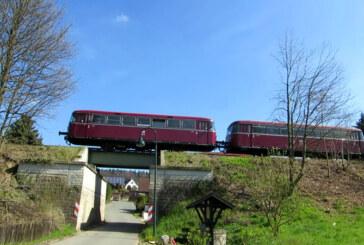 Ab Ostermontag wieder auf der Schiene unterwegs