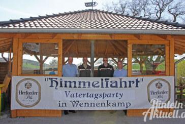 Himmelfahrt 2016: Vatertagsparty in Wennenkamp