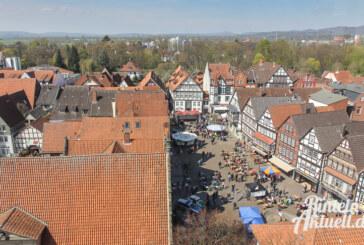 Samstags-Wochenmarkt diesmal auf dem Marktplatz